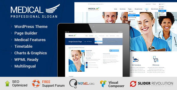 Medical – Health WordPress Theme (Health & Beauty)