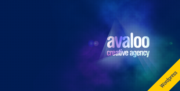 avaloo – One Page Creative Agency WP Theme (Portfolio)
