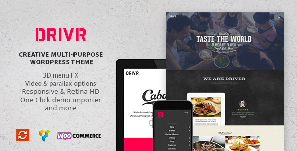 Driver – Creative Multi-Purpose WordPress Theme (Creative)