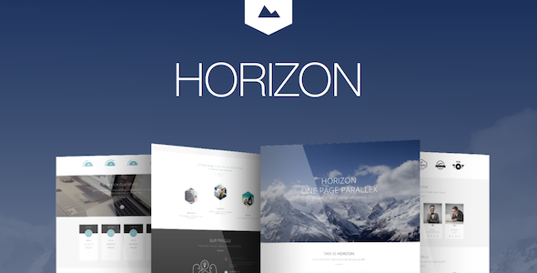 Horizon – Creative One Page Multi-Purpose Theme (Creative)