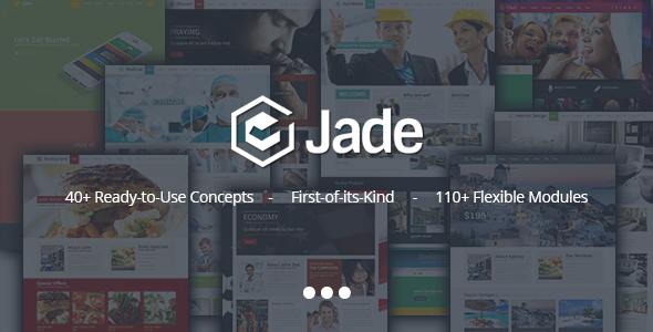 Jade – Flexible Multi Purpose Responsive Theme (Miscellaneous)