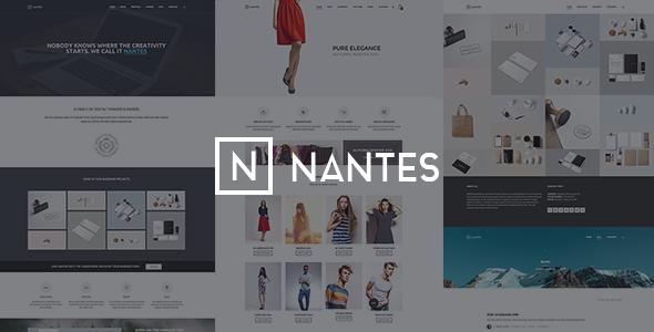 Nantes – Creative Ecommerce & Corporate Theme (WooCommerce)