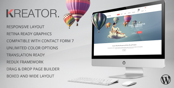 Kreator – Multipurpose WordPress Theme (Portfolio)