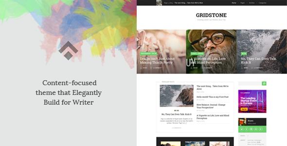 Gridstone: Elegantly Built for Blogger (Personal)