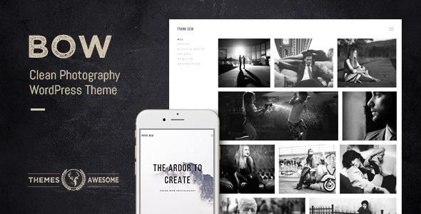 Bow – Clean Photography Portfolio Theme (Photography)