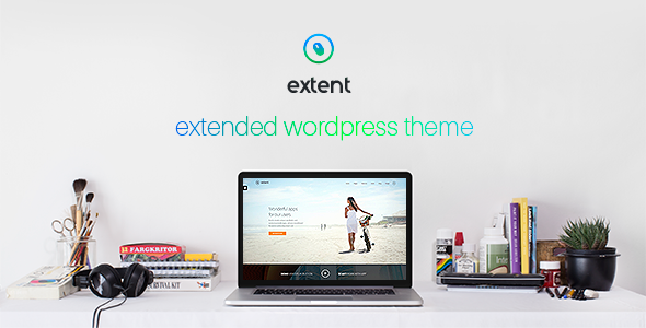Extent – another WordPress theme (Business)