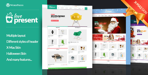 Present – Pro GiftShop WordPress Theme (WooCommerce)