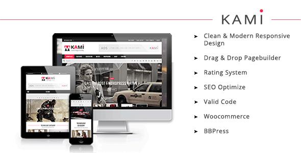 KAMI – Creative Magazine and Blog (News / Editorial)