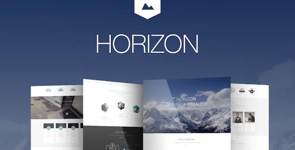 Horizon – Creative One Page Multi-Purpose Theme (Creative)