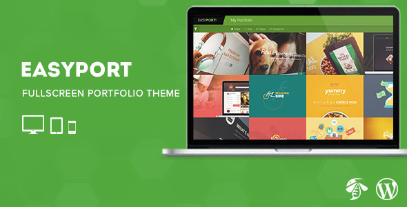 Easyport – Fullscreen Portfolio Theme (Portfolio)