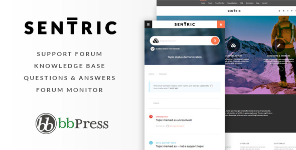 Sentric – Support Forum & Knowledge Base (Miscellaneous)