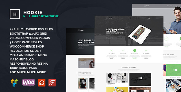 Hookie – Agency & Business WordPress Theme (Business)