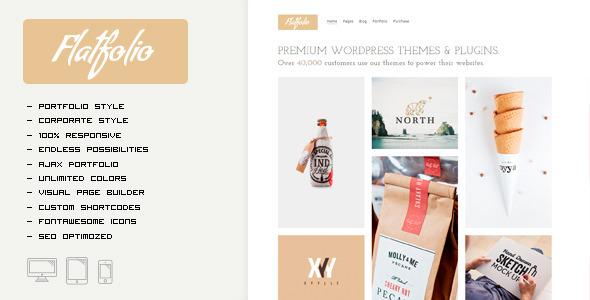 FLATFOLIO – Premium Portfolio & Agency Theme (Portfolio)